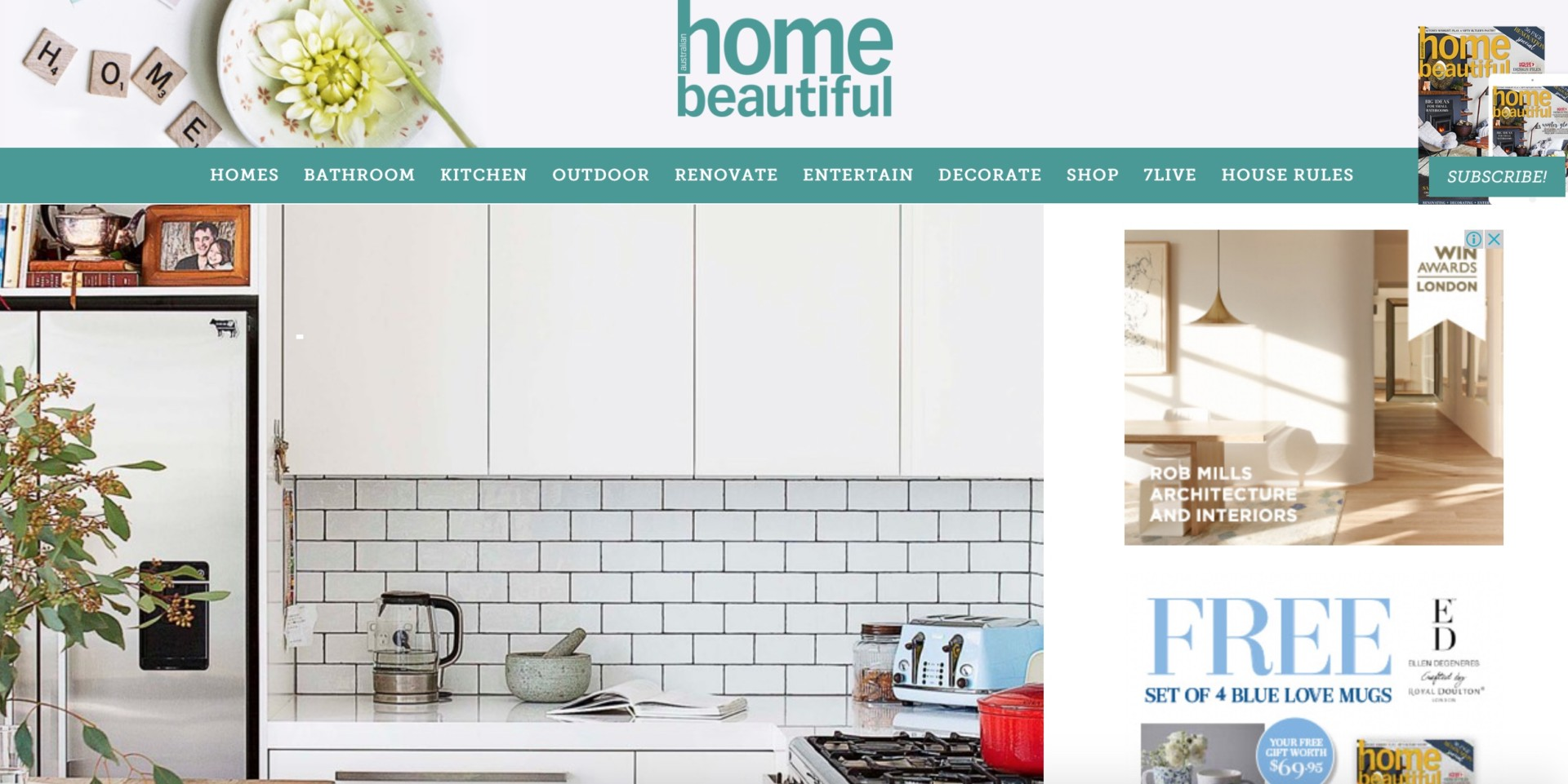 Feature Home Page Beautiful Magazine Rock Interiors Interior Design Sydney